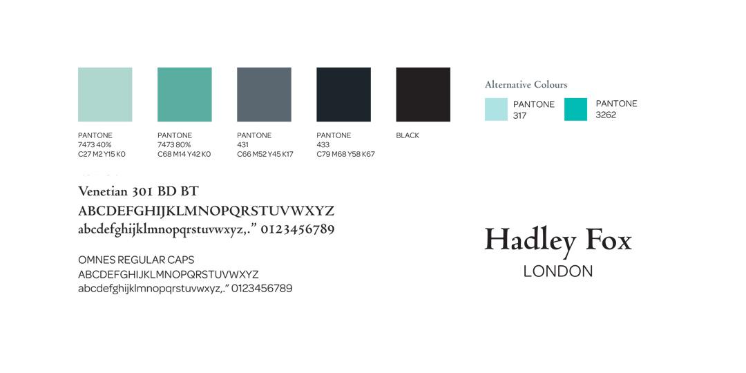 Hadley Fox London - Style Guide